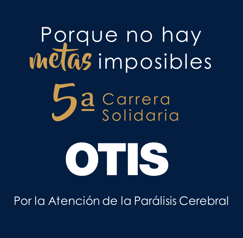 Lema Carrera Solidaria Imparables. Otis