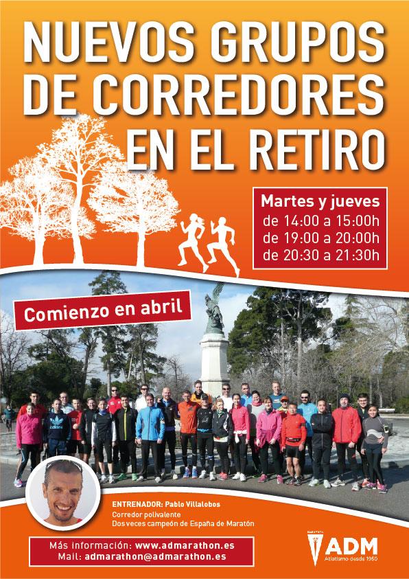 NUEVOS GRUPOS DE CORREDORES EN EL RETIRO BY PABLO VILLALOBOS