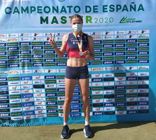 Cuatro medallas en el Campeonato de España Máster