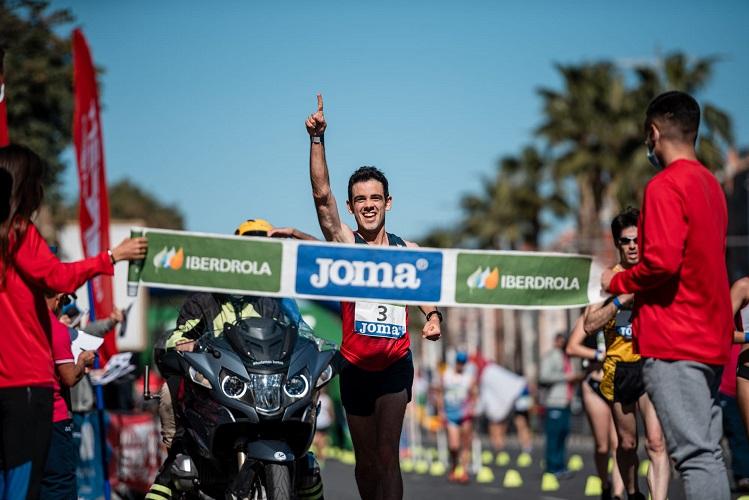 Diego García, grandioso campeón de España de 20 km marcha