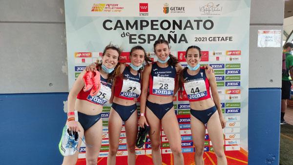 Tres medallas, tres bronces, en el Nacional Absoluto y récord de España Sub 18 de Sofía Cosculluela