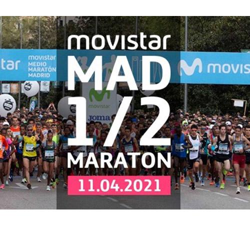 El Movistar Medio Maratón de Madrid y la Carrera ProFuturo CANCELADOS en 2020