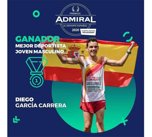 DIEGO GARCÍA, PREMIO ADMIRAL DEL DEPORTE 2020