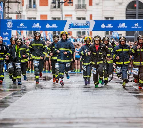 ¡Vuelve la Carrera Bomberos de Madrid!