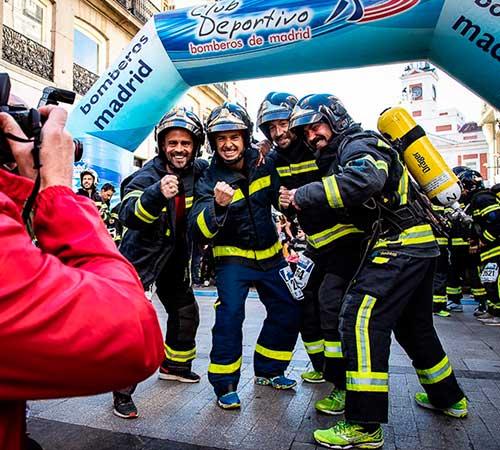 Vuelve una nueva edición de la Carrera Bomberos de Madrid