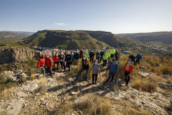 """Gran jornada del """"Costa Rica te oxigena on Tour con Edurne Pasaban"""" en Chulilla"""