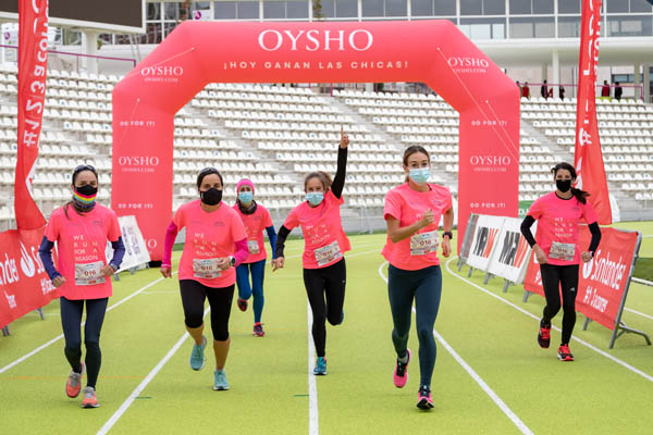 Oysho dona 70.000 camisetas de la Carrera de la Mujer para fomentar la práctica deportiva