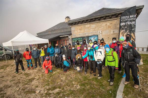 Una jornada muy montañera en Navacerrada con Edurne Pasaban