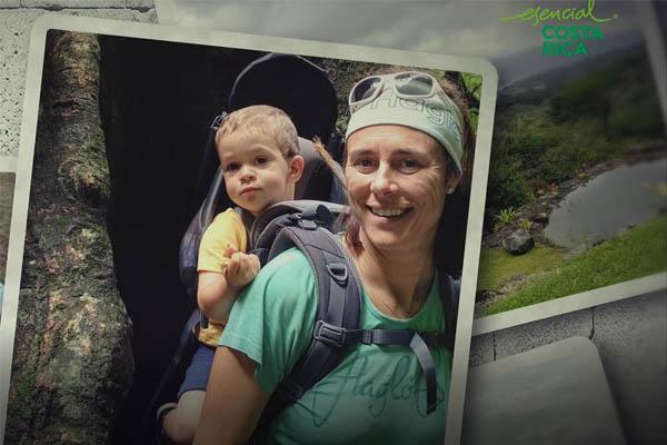 Edurne Pasaban: aventura en familia en Costa Rica