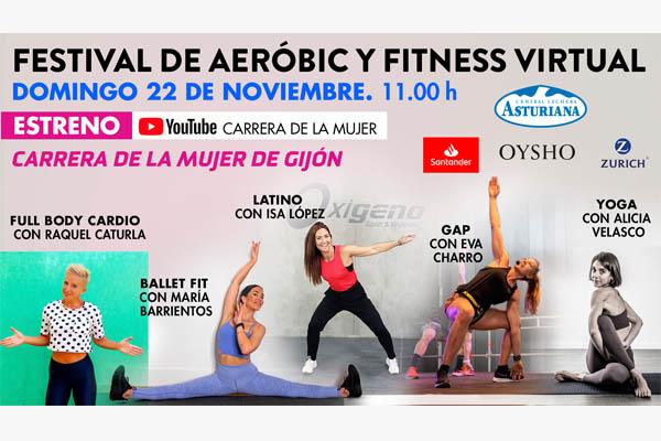 ¿Te apuntas al festival de aeróbic y fitness de la Carrera de la Mujer de Gijón?