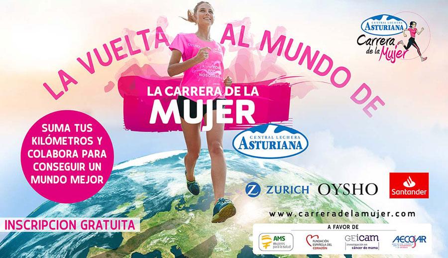 ¡Arranca la Vuelta al Mundo de la Carrera de la Mujer!