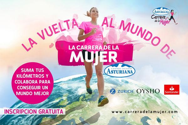"""La Carrera de la Mujer intentará dar la """"Vuelta al Mundo"""" entre el 24 y el 30 de mayo"""