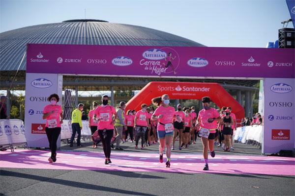 La Marea Rosa regresó presencialmente a Vitoria – Gasteiz en una nueva fiesta deportiva de la Carrera de la Mujer