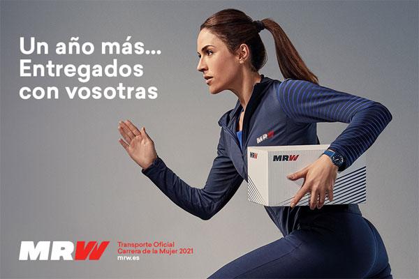MRW es el transporte oficial de la Carrera de la Mujer