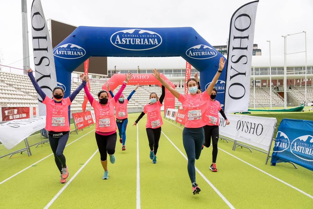 La Carrera de la Mujer de Madrid homenajea al personal sanitario y reune a más de 29.000 corredoras en su prueba virtual