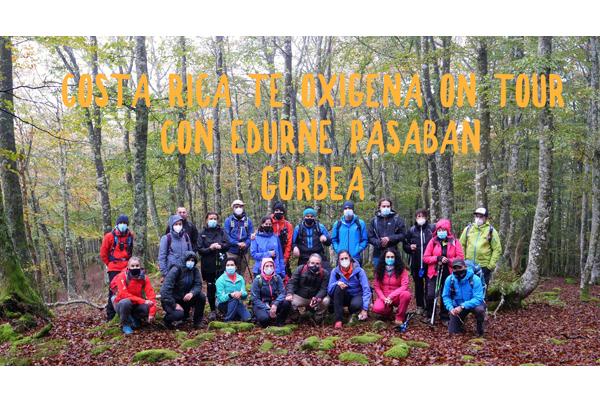 Una jornada mágica con Edurne Pasaban en el bosque otoñal de GorbeaVitoria