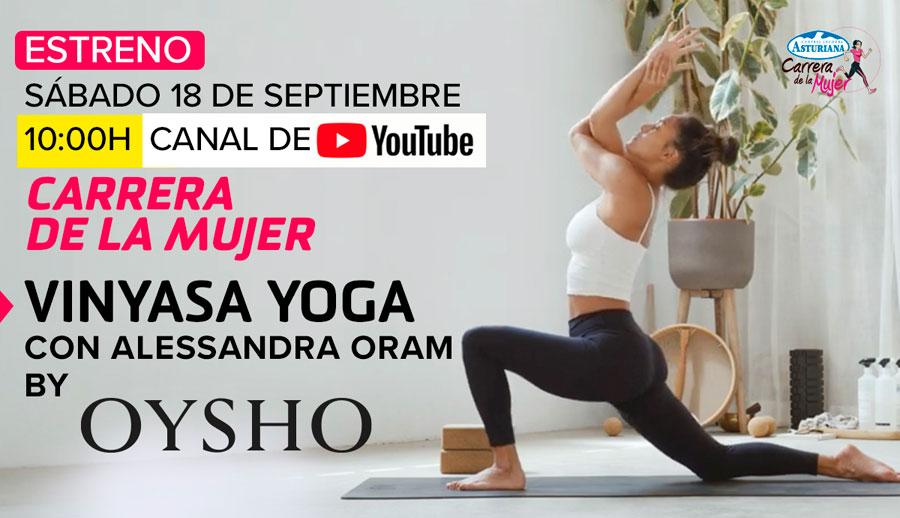 ¡Vuelven las clases de fitness y yoga de la Carrera de la Mujer!