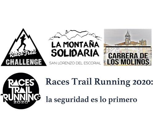 Races Trail Running 2020: la seguridad es lo primero