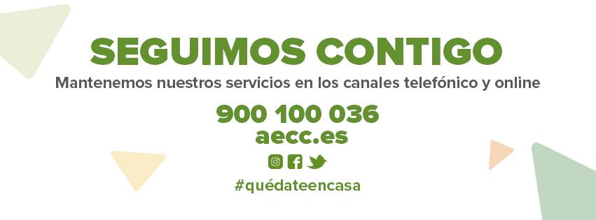 Profesionales de la AECC Madrid continúan con su misión de ayudar a pacientes y familiares