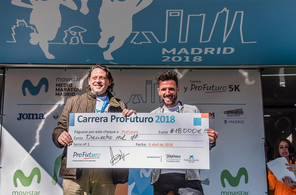 Alex Jiménez y Marina Martín, grandes triunfadores de la III edición de la Carrera ProFuturo
