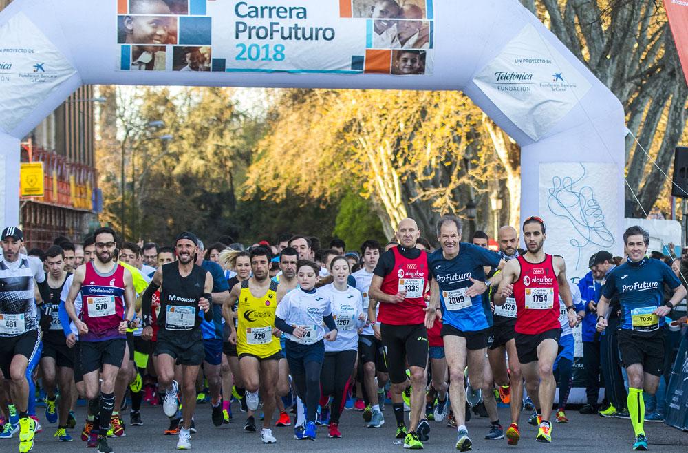 La IV edición de la Carrera ProFuturo se celebrará el 7 de abril en Madrid