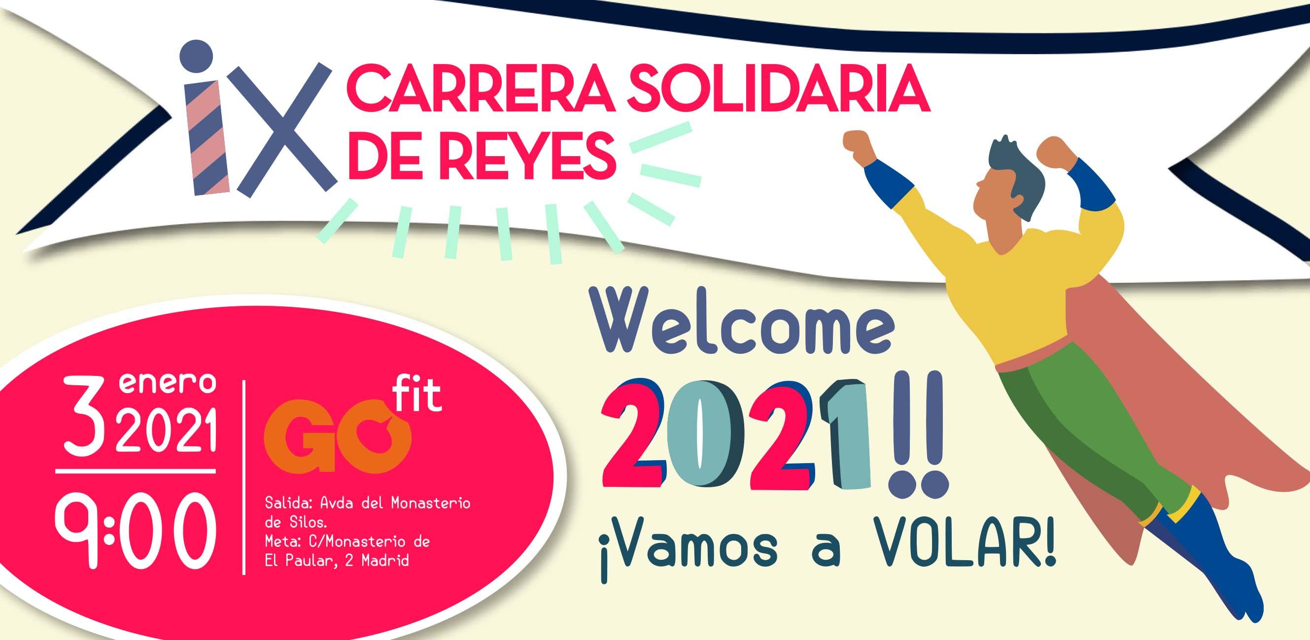 VIII Carrera Solidaria de Reyes – KMSDEFELICIDAD By EUROMASTER