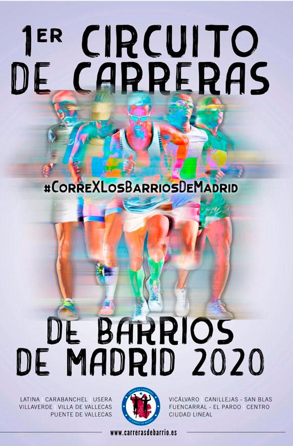 NACIMIENTO Y PRESENTACION DEL I CIRCUITO DE CARRERAS DE BARRIO DE MADRID 2020