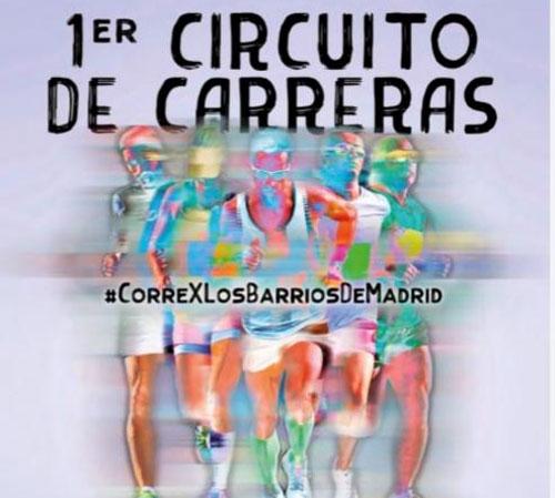VUELVE EL I CIRCUITO DE CARRERAS DE BARRIO DE MADRID 2020-21