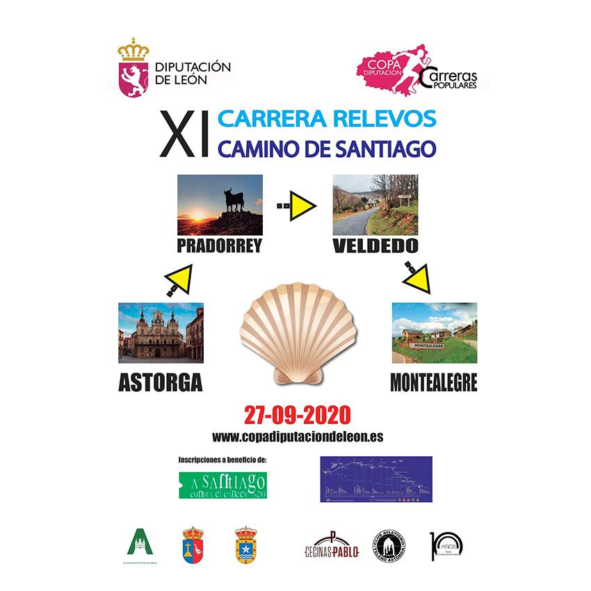XI CARRERA DE RELEVOS - CAMINO DE SANTIAGO