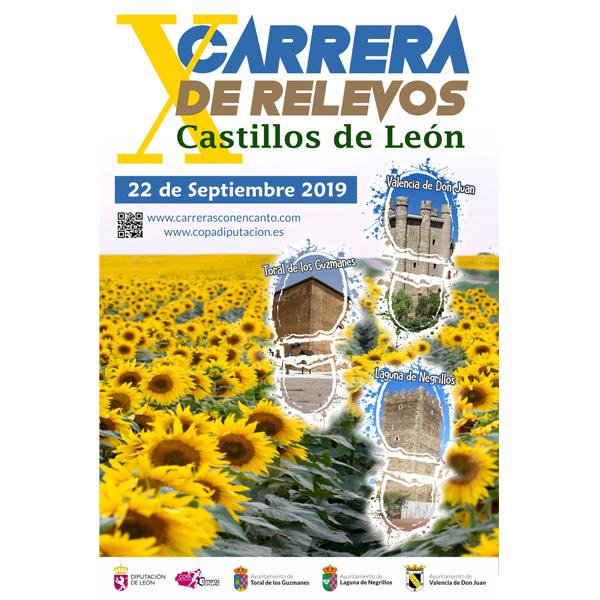 Apertura de inscripciones de la X Carrera de Relevos, Castillos de León