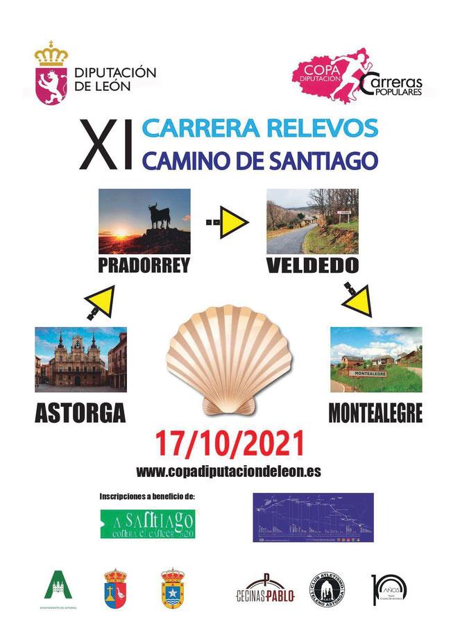 XI CARRERA DE RELEVOS CAMINO DE SANTIAGO