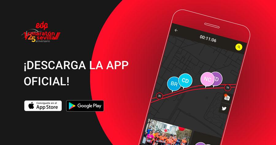 Descárgate  la APP oficial del EDP Medio Maratón de Sevilla