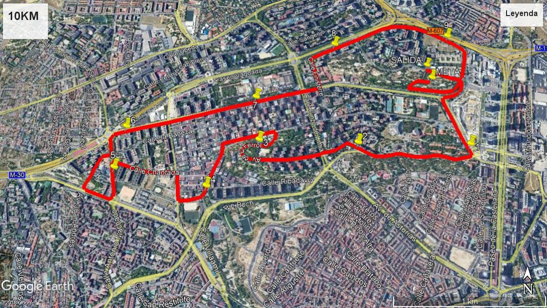 10 km Circuito III Carrera Solidaria IdiPaz