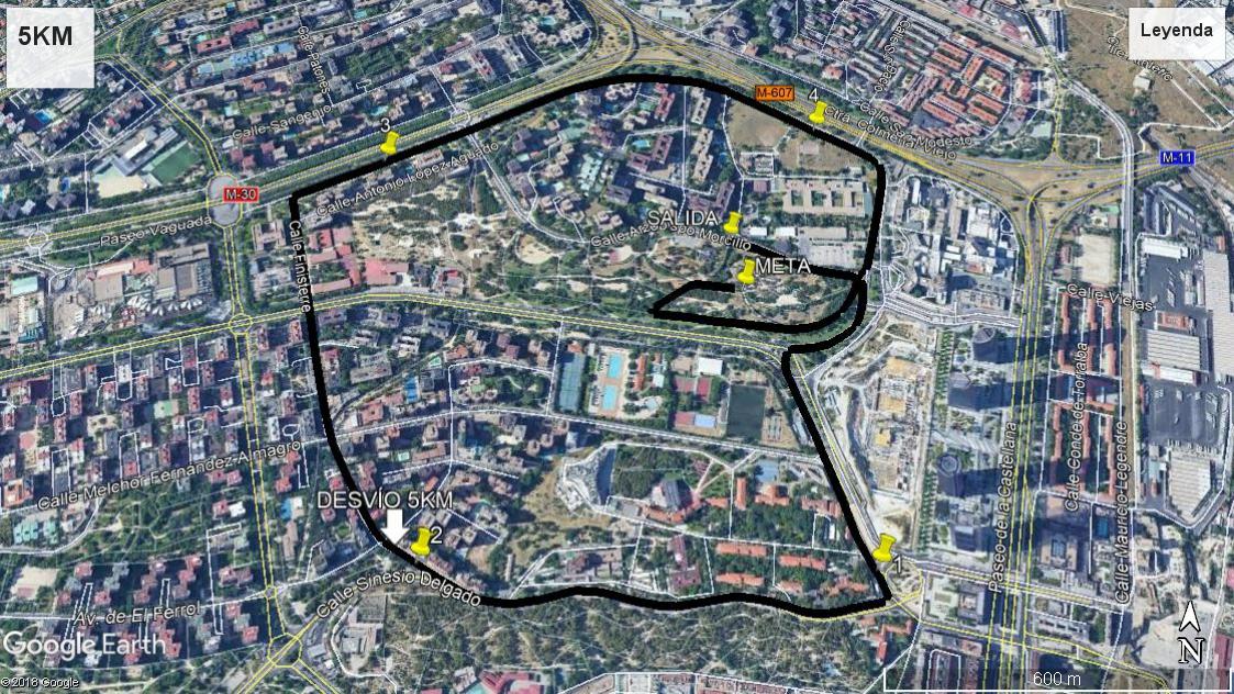 5 km Circuito III Carrera Solidaria IdiPaz