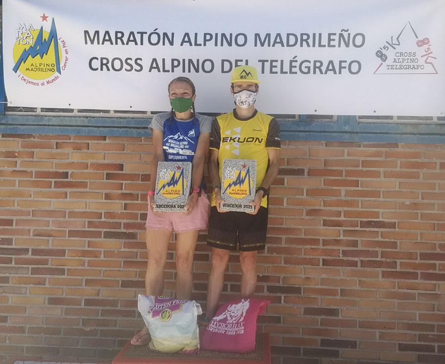 25 MARATON ALPINO MADRILEÑO – DAVID LÓPEZ Y GEMA LÓPEZ REPITEN VICTORIA
