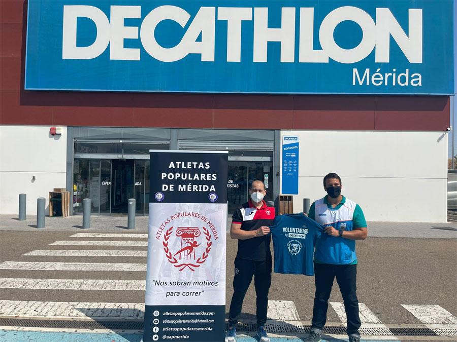 Los dorsales de la prueba se volverán a recoger en la tienda Decathlon