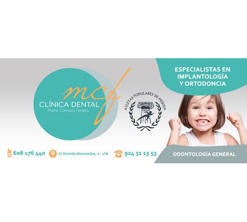 La clínica dental 'Carrasco Ferreira' apoya la XV Media Maratón de Mérida