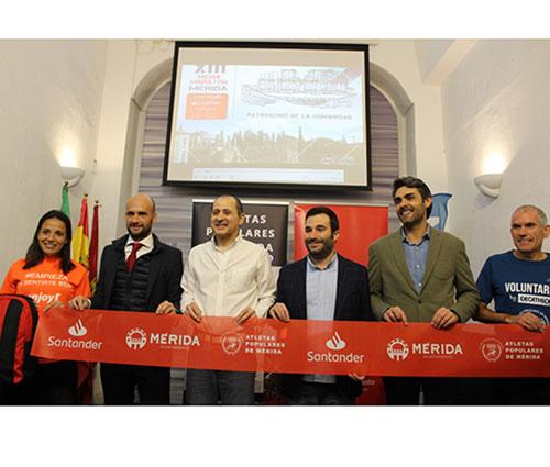 La XIV Media Maratón de Mérida 'Gran Premio Banco de Santander' cierra las inscripciones tras agotar sus dorsales