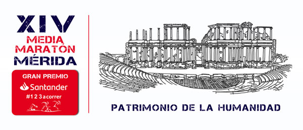 Media Maratón de Mérida. Patrimonio de la Humanidad
