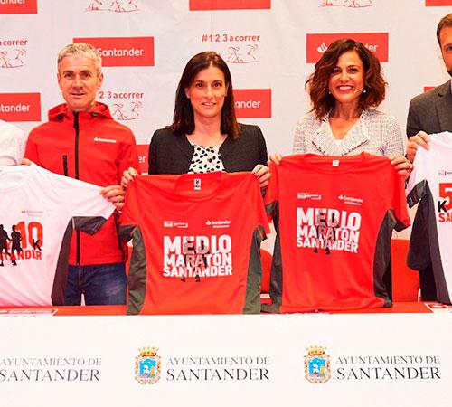 Presentada la VIII edición del Medio Maratón de Santander