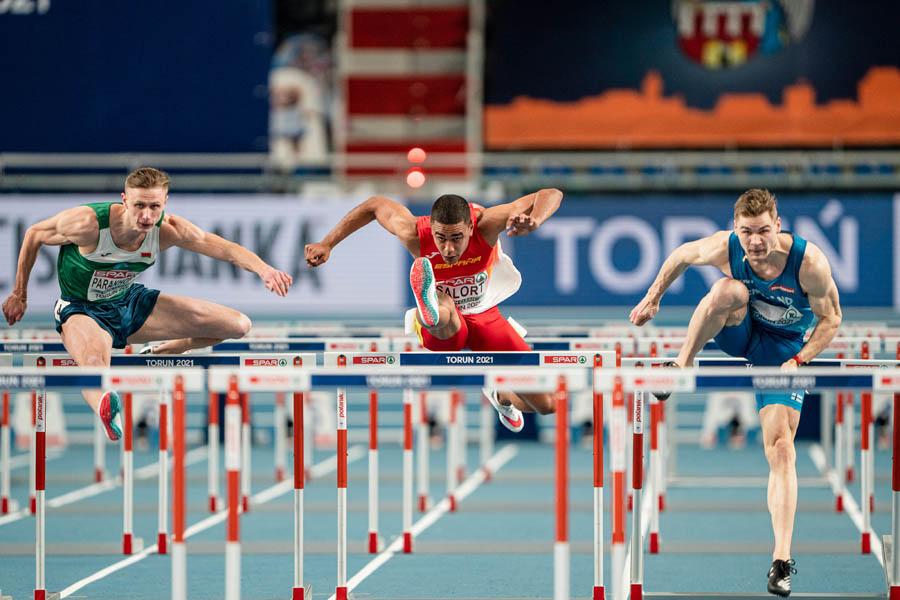 Fátima Diame finaliza séptima en el Europeo de pista cubierta