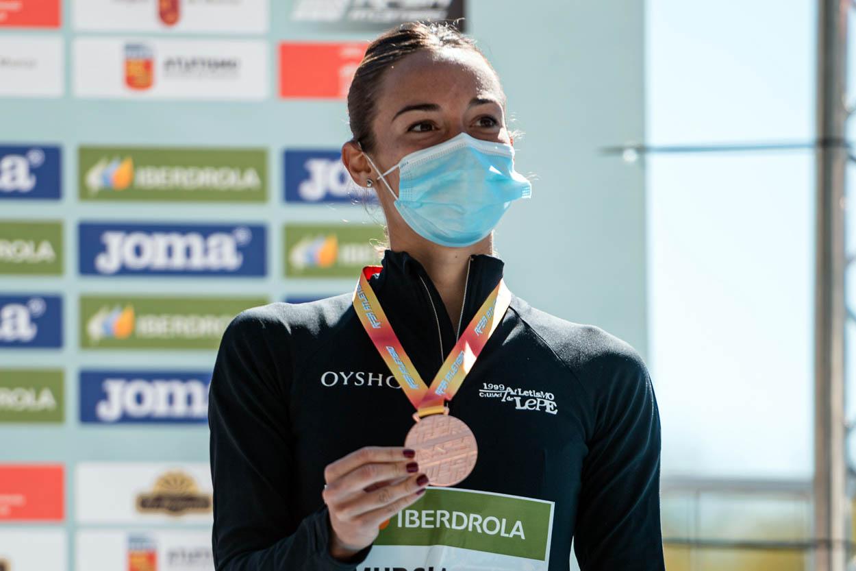 Laura García-Caro logra el bronce en el Campeonato de España de 20km marcha