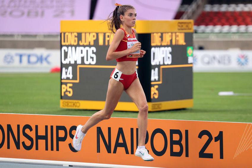 Carla Domínguez finaliza quinta en los Mundiales Sub-20 de Nairobi