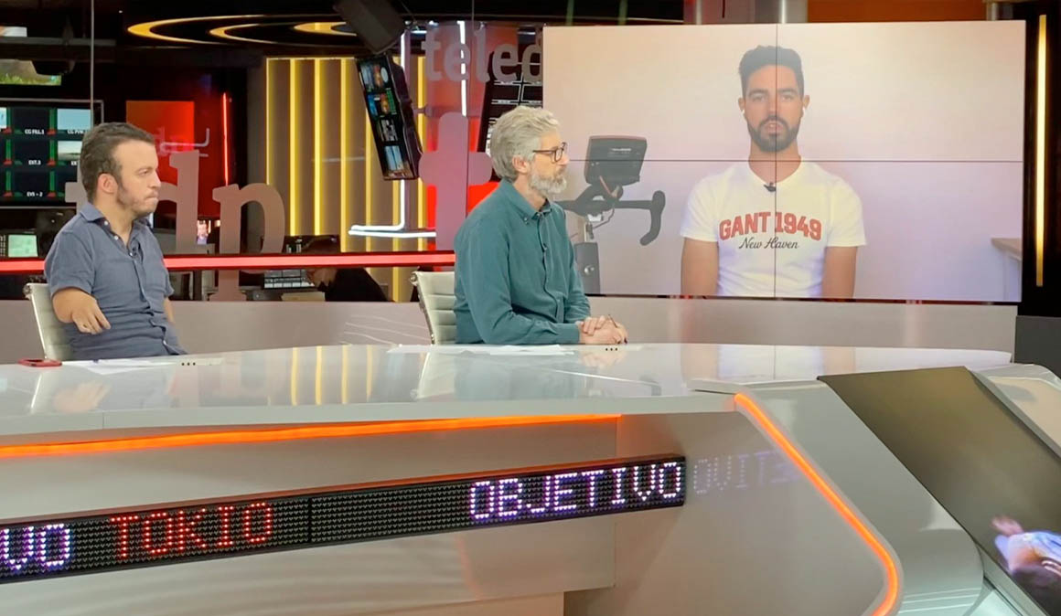 Alfonso Cabello, protagonista en el programa 'Objetivo Tokio' de Teledeporte