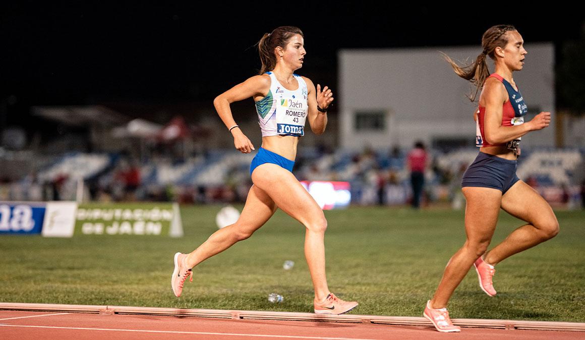 Andrea Romero logra en Andújar la mínima europea y el récord de Baleares de 5.000 metros