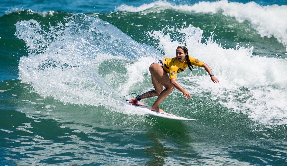 Ariane Ochoa es seleccionada para el Mundial de surf