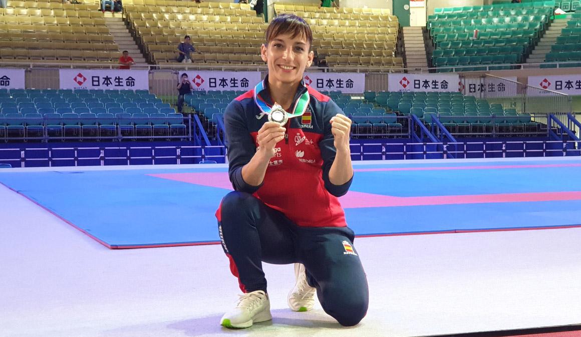 Sandra Sánchez logra la plata con polémica en la Premier League de Tokio