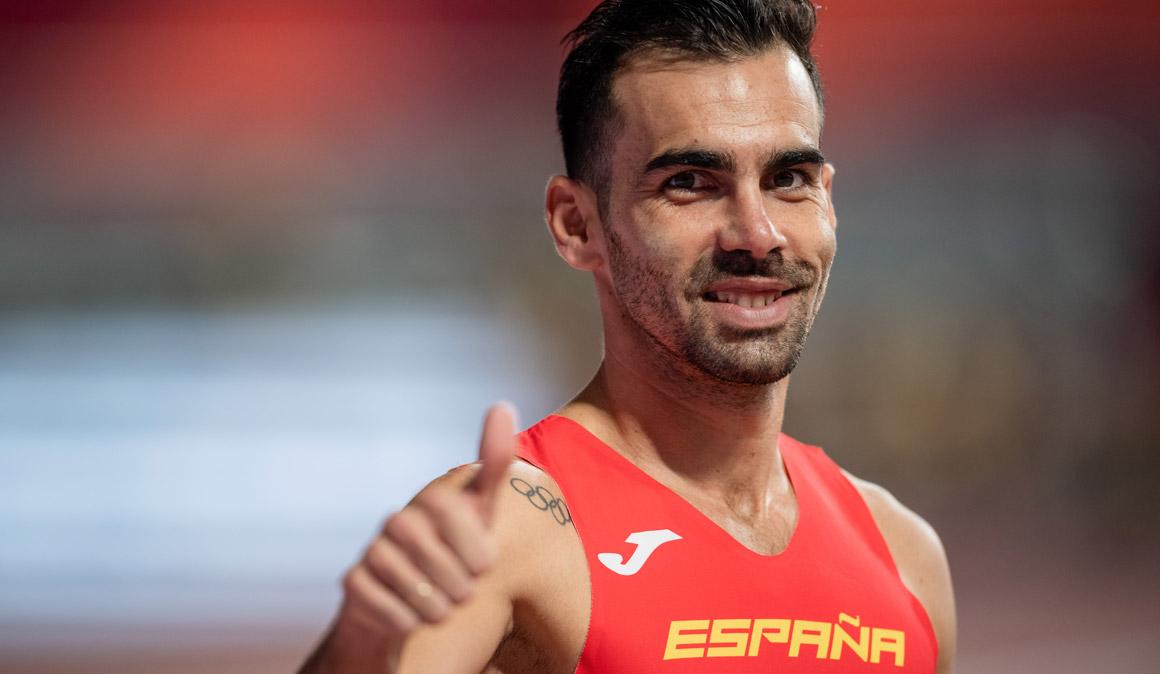 Kevin López se mete en las semifinales de 1.500 metros del Mundial de Doha