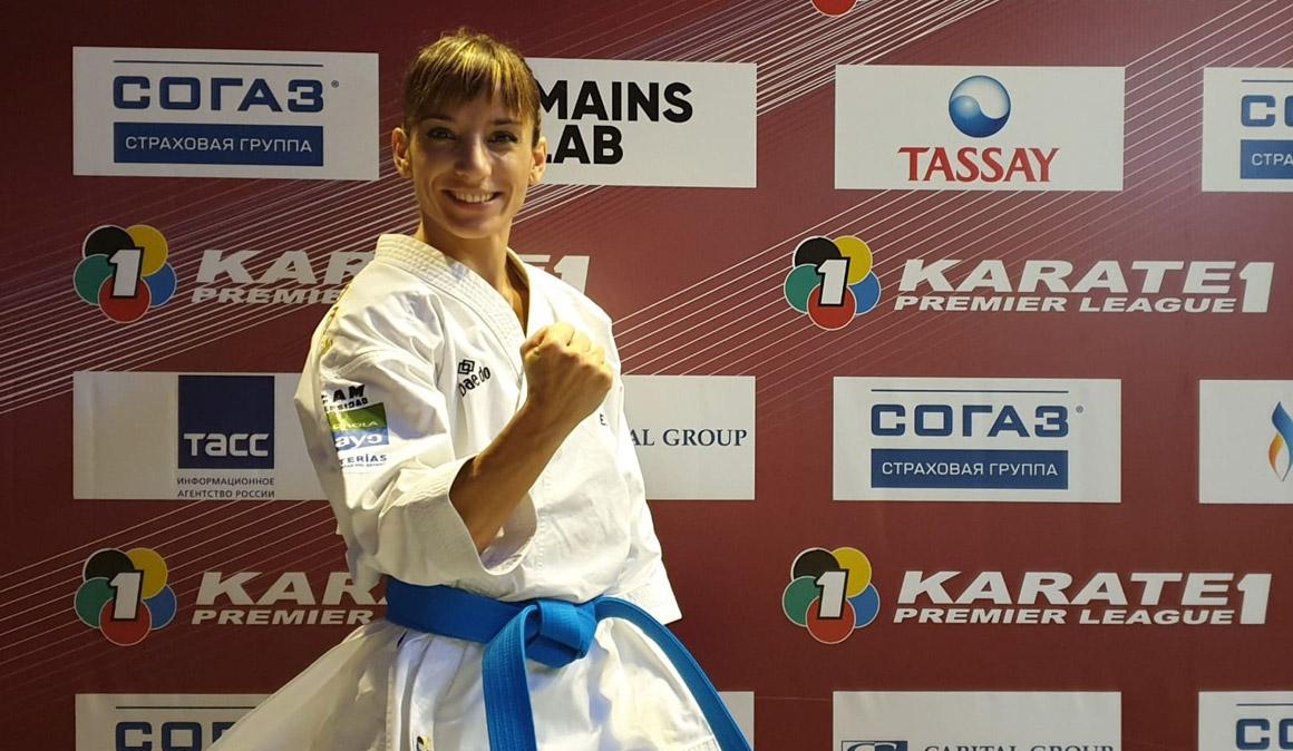 Sandra Sánchez gana el oro frente a Shimizu en la Premier League de Moscú
