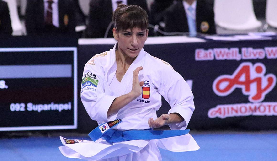 Sandra Sánchez logra en Madrid su quinto título del circuito mundial de karate